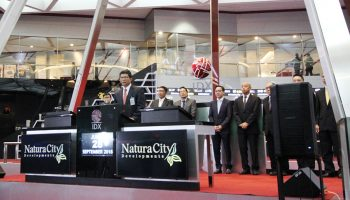 Debut Saham Natura City di BEI