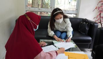 Serpong Natura City AJB Massal During a Pandemic With Health Protocols